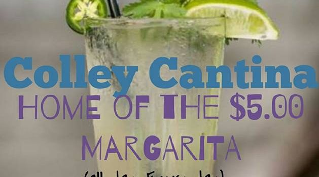 $5 Margarita Colley Cantina